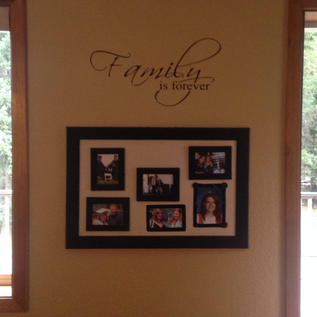 Family Is Forever Vinyl Wall Decal Kids