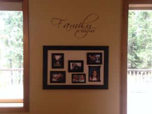 Family is Forever Vinyl Wall Decal