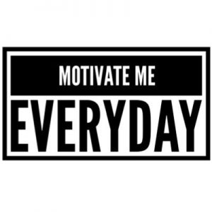 Motivate Me Wall Decal Heading