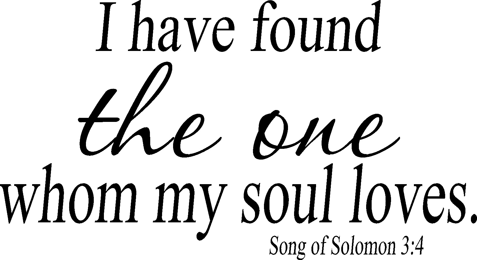 Song 34 Vinyl Wall Decal