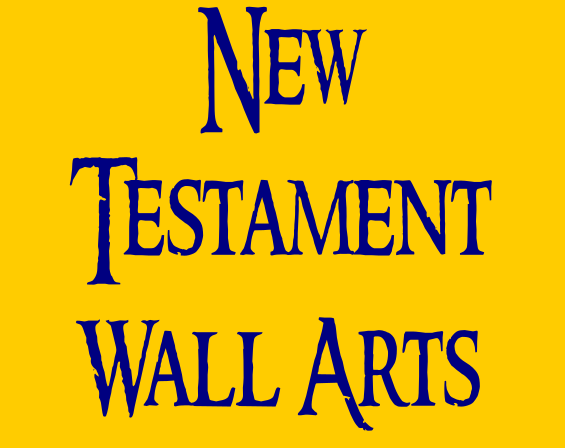 New Testament Wall Decals Button