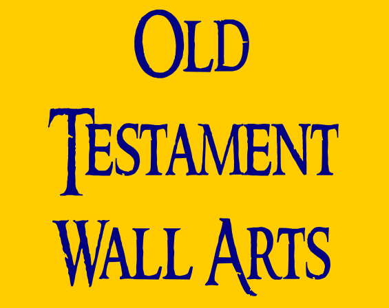 Old Testament Scripture Wall Arts Button
