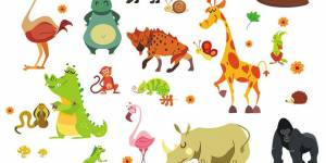 Nursery Jungle Stickers