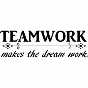 Image of: Inspirational Quotes Teamwork Vinyl Wall Decal Vinyl Wall Decals 23 Motivational Work Quotes For The Office