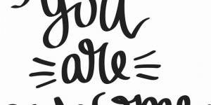 You Are Awesome Vinyl Wall Decal By Scripture Wall Art