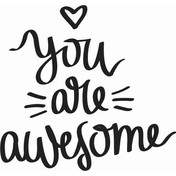 You are awesome motivational work quotes