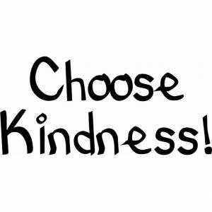 Choose Kindness Wall Art