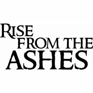 Rise From The Ashes Inspirational Wall Quote Image