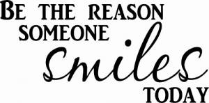 Be The Reason Motivational Wall Decal