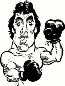 Rocky Balboa Vinyl Wall Decals by Scripture Wall Art Image