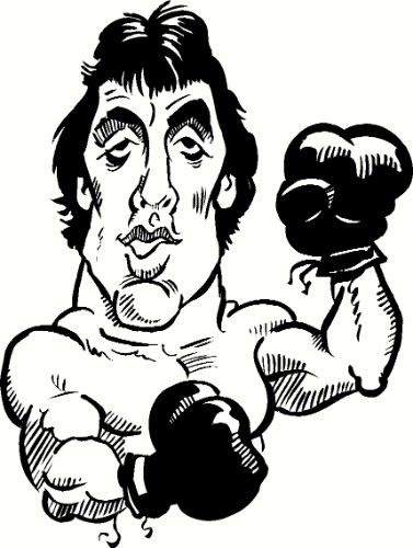 Rocky Balboa Motivational Vinyl Wall decal