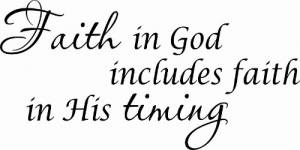 Faith In God Includes Vinyl Wall Decals By Scripture Wall Art