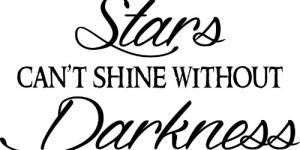 Stars Can't Shine Vinyl Wall Decals By Scripture Wall Art