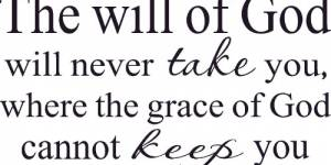 The Will Of God Vinyl Wall Decals By Scripture Wall Art